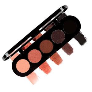 Eyeshadow palette – new colors T02 Warm Brown